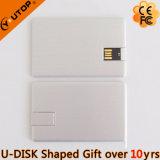 De Aandrijving van de Flits van de Creditcard USB van het Aluminium van de wartel Als Giften van de Kop (yt-3114-03)