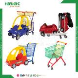 Вагонетка Shooping детей супермаркета Nestable с автомобилем игрушки