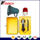 Телекоммуникации передачи более громко говоря погодостойкmAs телефон Knsp-08L
