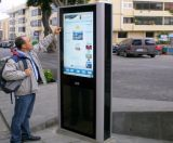 DigitalSignage LCD-Bildschirmanzeige-Touch Screen WiFi Kiosk-Standplatz