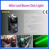 L'audio LED testa mobile DJ del fascio 60W della fase si illumina