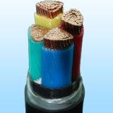 O cabo distribuidor de corrente de cobre do LV, XLPE isolou a fita de aço blindada
