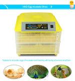 Incubadora do ovo das aves domésticas automáticas de Hhd Digital mini (96 ovos)