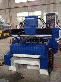 Máquina de gravura de madeira do CNC da coluna das escadas