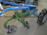 力の耕うん機または歩くトラクターまたは2車輪のトラクターの二重刃が付いたすき