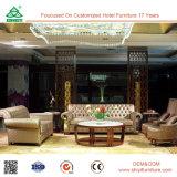 Mobília da sala de visitas do sofá, sofá de couro personalizado