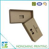 Kundenspezifischer Kraftpapier-Pappquerbinder-verpackenkasten