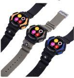 Hete Verkoop! 2016 het Nieuwe Slimme Horloge Nr 1 A10 Bluetooth Waterdichte IP68 Smartwatch van de Sport voor Slimme Telefoon met het Tarief van het Hart voor Openlucht Oranje Kleur