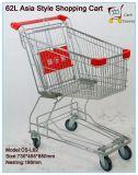 62L Estilo Ásia Carrinho de Compras Carrinho de Compras Carrinho de Supermercado