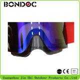 Grandes lunettes de ski de lentille avec des trous de ventilation d'air
