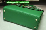 Module argenté vert-foncé d'agrafe de sacs de mode de femmes de constructeur