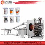 Máquina de la impresión en color de la marca de fábrica 4-6 de Guangchuan para la taza y el tazón de fuente