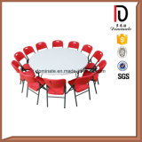 18mm Contreplaqué Folding Wedding Dining Hotel Restaurant Banquet Table