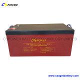 Bateria profunda do ciclo da bateria 12V 100ah de SMF VRLA para solar