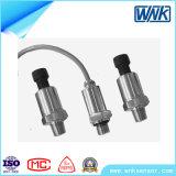 4-20mA/0.5-4.5V/1 -5V/0-5V nivelam o transdutor de pressão diminuto do diafragma