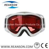 ReansonのAnti-Fog紫外線切口の倍レンズのスノーボードのスキーゴーグル