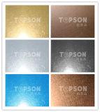 plaque décorative de l'acier inoxydable 201 304 316 avec le fini de vibration pour le projet