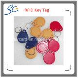 Printable бирка цены по прейскуранту завода-изготовителя 13.56MHz RFID ключевая/ключевое кольцо/Keyfob с подгонянным логосом