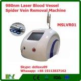 máquina Mslvr01A da remoção da veia da aranha do vaso sanguíneo do laser 980nm