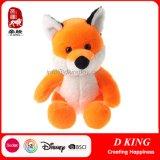 Brinquedos alaranjados dos animais enchidos do Fox do luxuoso