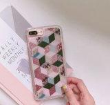 Samsung J7 S8를 위한 새로운 도착 TPU 액체 Bling 반짝임 유사 전화 상자