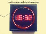 El reloj de Digitaces de la pared del cuadrado LED en precio de fábrica