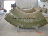 Изготовленный на заказ продукты стеклоткани - штуцеры трубы стеклоткани