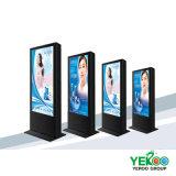 32-98 pavimento di pollice che si leva in piedi affissione a cristalli liquidi esterna che fa pubblicità alla visualizzazione