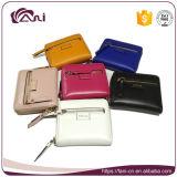 6 de Vrouwen van Fani van kleuren Dame Leather Wallet met Uitstekende kwaliteit
