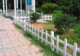 Rete fissa bianca del giardino di colore