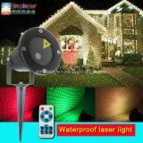 Напольные лазерные лучи IP65 делают дистанционное управление водостотьким светов рождества лазера репроектора лазера
