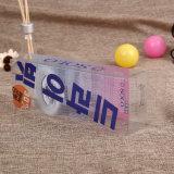 Коробка PVC пакета PVC пластичная складывая косметическая для пакета губной помады (коробка PVC косметическая)
