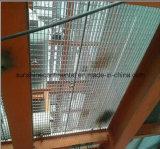 Passaggio pedonale galvanizzato tuffato caldo della fabbrica che pavimenta le griglie del pavimento d'acciaio