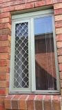 Tela do mosquito do indicador do acesso da porta da segurança do projeto do alumínio e da madeira