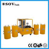 二重代理の大きい容積トン数の二重代理油圧ジャック