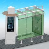 Rectangle et abri matériel d'arrêt de bus en métal d'acier