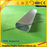 6063 T5 Aluminium Tubes en aluminium avec revêtement en poudre et anodisé