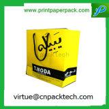Nützlicher kundenspezifischer Einkaufstasche-Packpapier-Luxuxbeutel mit Farbband