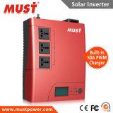 Sistema eléctrico solar 1kVA 2kVA 12VDC del inversor con el cargador de PWM 50A