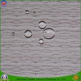 Tissu enduit imperméable à l'eau tissé de rideau en arrêt total de franc de tissu de polyester de tissu de constructeur de tissu de textile