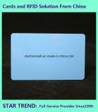 小売商の在庫のためのCr80/30milのブランクプラスチック青いカード