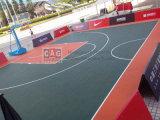 Artículo y ningún suelo al aire libre adhesivo para las canchas de básquet/los azulejos de suelo del baloncesto