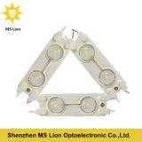 Módulo impermeable de la muestra LED de la carta de canal 2PCS del módulo 5050 del LED