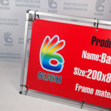 Soporte de aluminio plegable exterior de la tarjeta del anuncio del soporte de la bandera de la visualización (SS-AS-02)