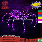 LED Decorative Pink Bat Spider PVC Holiday Light pour Halloween Décoration