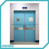 Автоматический двойник раздвижной двери открытый для стационаров