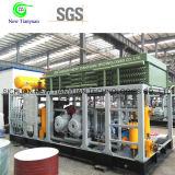Compressore appiattito del gas naturale CNG di grande uso della stazione