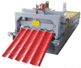 Roulis avec impériale automatique de tuile de toit formant la tuile de toit de la machine 840mm
