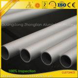 Fabricante de aluminio que suministra barras de aluminio anodizadas Matt del tubo