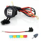 Doppel-USB-Energien-Kanal-Aufladeeinheits-Kontaktbuchse für Motorrad-Auto RV-Boot